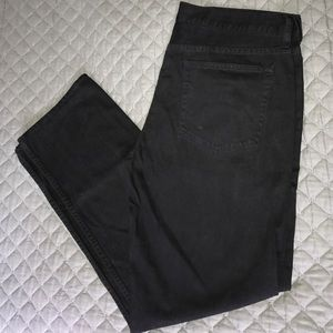 J.Crew 770 Black Jeans