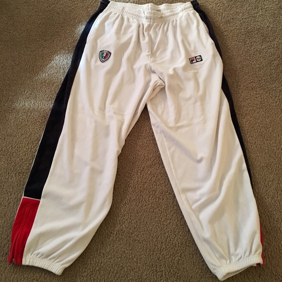 2ed3516b2427 FILA Other - Men's velour FILA sweat pants XXL