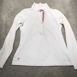 Lilly Pulitzer long sleeve polo shirt