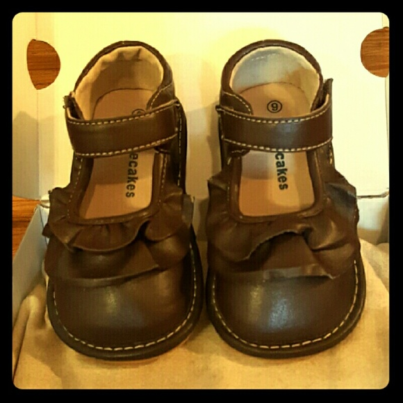 7a12cbf84c Laniecakes Other - Brown Ruffle Girl s Size 9 Shoes