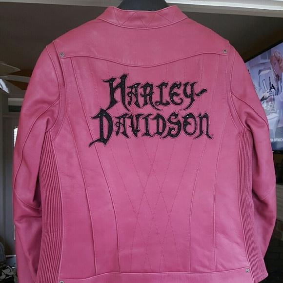 buy sale save up to 80% the latest Harley-Davidson Jackets & Coats | Pink Leather Harley Davidson ...