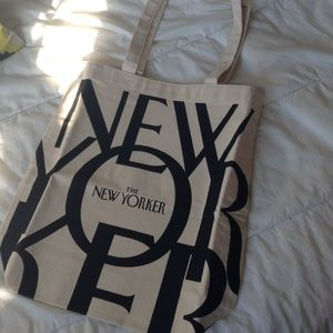 0e4f3288f0cc Bags - New unused The New Yorker canvas bag