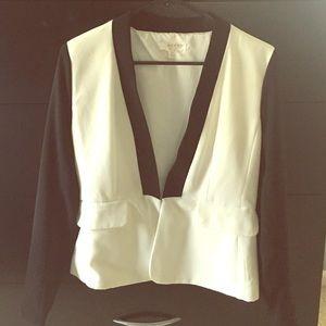 Kenar Jackets & Blazers - Black/White Blazer