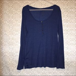 Old Navy Tops - FINAL PRICE Old Navy Blue Long Sleeve Shirt
