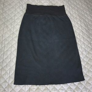 American Apparel Dresses & Skirts - American Apparel High Waisted sweatshirt skirt