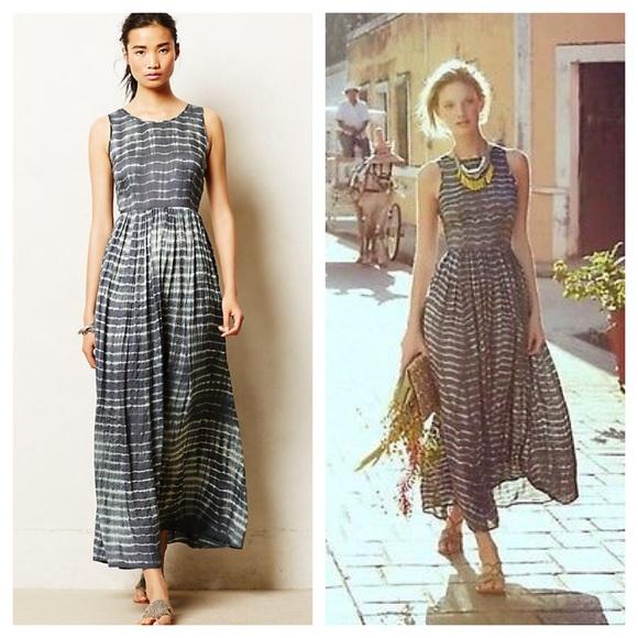 473decb4cefb Anthropologie Dresses   Skirts - Anthropologie Shibori Maxi dress tie dye  ALTERED