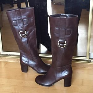 Franco Sarto Shoes - NWOT Franco Sarto brown leather boots