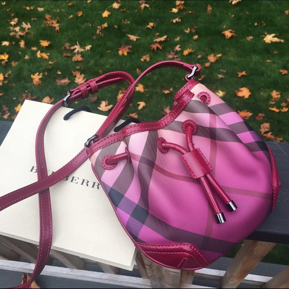 2f5b4cfdb8a9 Burberry Handbags - Burberry Ombré Giant Check Crossbody bag