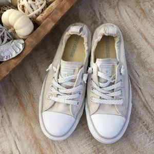 fa355bac0d1 Converse Shoes - Converse Shoreline Slip On Oyster Grey sz 7