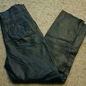 Leather Ladies vintage pants