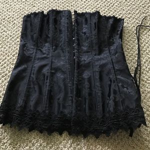 Frederick's of Hollywood Other - NWOT black corset