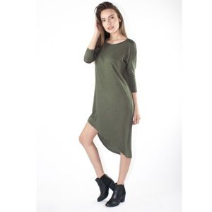 Atid Clothing Dresses & Skirts - ATID Olive Patter Dress