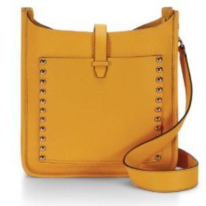 Rebecca Minkoff Handbags - Rebecca Minkoff Mustard Large Crossbody Feed Bag