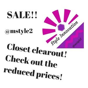 Other - Closet refresh!  Reduced items!