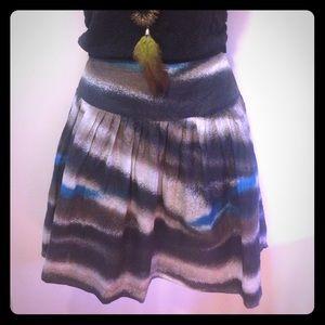 Kenzie Skirt Cotton/Silk Blend