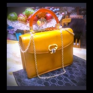 Auth Gucci Large Handbag Gorgeous Limited Edition