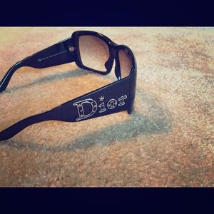 Authentic Black Dior Sunglasses