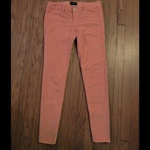 American Eagle Orange Sherbet Corduroy Pants