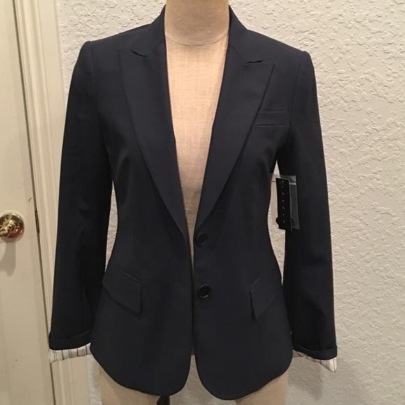 791bfb9a52 Theory Jackets & Coats | Nettie Blazer In Eclipse Size 6 Nwt | Poshmark