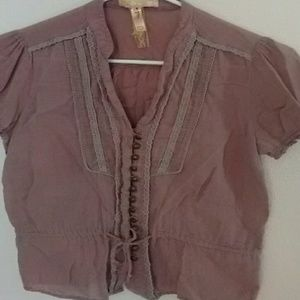Andrew & Co Tops - Lavender Blouse