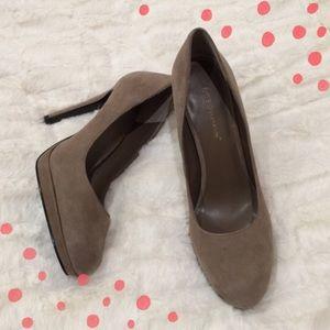 BCBGeneration Shoes - Suede BCBG heels