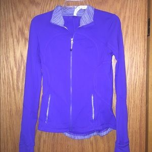 Lulu lemon purple zip jacket