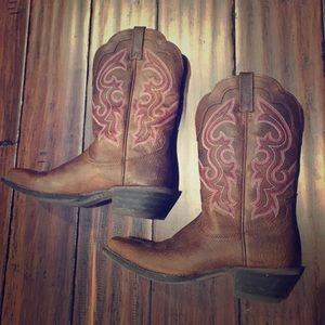 Ariat Shoes - Like New Ariat Women's Western Cowboy Boots 7.5B
