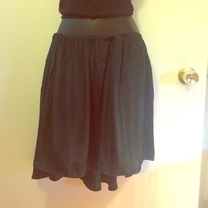 Blaque Market Dresses & Skirts - Very Lightweight, Flowy Dark Green Skirt