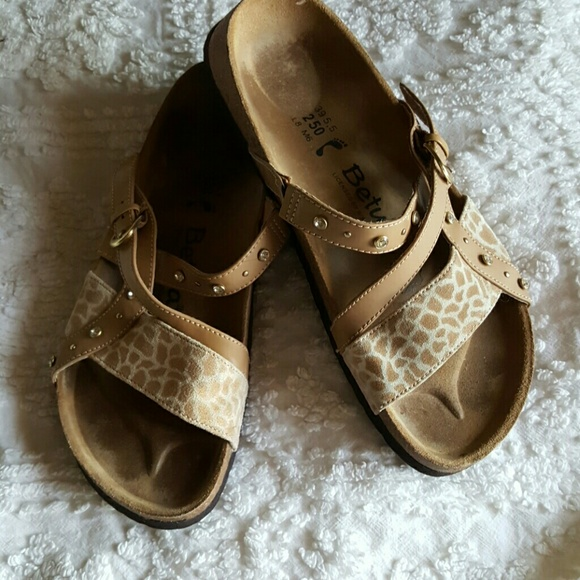 3e9fe993b629 Birkenstock Shoes - Fun Animal Print Birkenstock Sandals