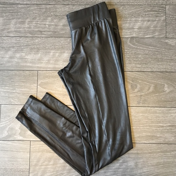 Forever 21 Pants - Vegan Leatherette Leggings