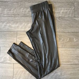 Vegan Leatherette Leggings