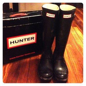Hunter, original, tall, wellington boots