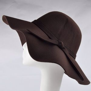  FLOPPY BOHO BROWN HAT