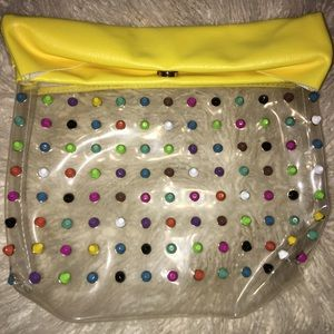 Handbags - Clutch bag with studded colors
