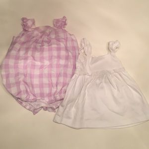 Rosie Pope Other - Two dresses -- Purple and white dresses