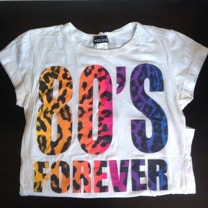 Other - Wet Seal 80's Forever TSHIRT