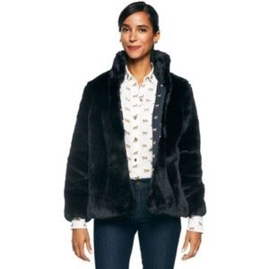 C wonder faux fur jacket