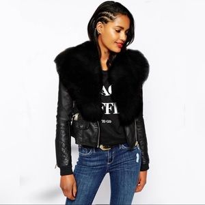 🌟Gorgeous Faux Fur Motto🌟 more sizes on the way!