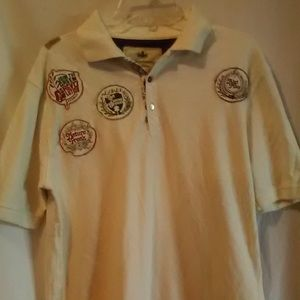 AKADEMIKS Other - AKADEMIKS SIZE L CREAM SHORT SLEEVES