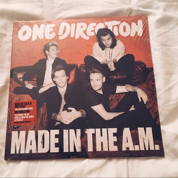 One Direction Made in the A M  on vinyl BRAND NEW NWT