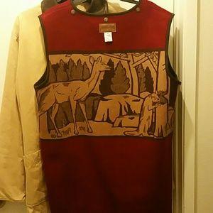 Pendleton coat with wool vest Medium..