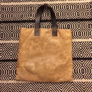 Falor brown leather bag