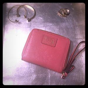 Authentic Coach zip wallet