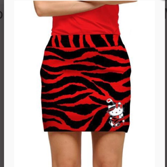 a9fc72665 loudmouth Dresses & Skirts - SALE Loudmouth Skorts Skirt Hello Kitty Red  Tarzan