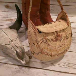 Beautiful handwoven vintage purse