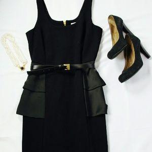 KORS Michael Kors Dresses & Skirts - [Michael Kors] HP🍾 Side Ruffle LBD - NWT