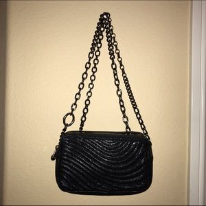 Henri Bendel Black Shoulder Bag Clutch