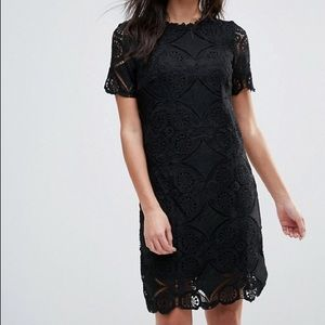 Talbots Dresses & Skirts - Gorgeous black lace dress