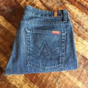 7 For all Mankind A-Pocket