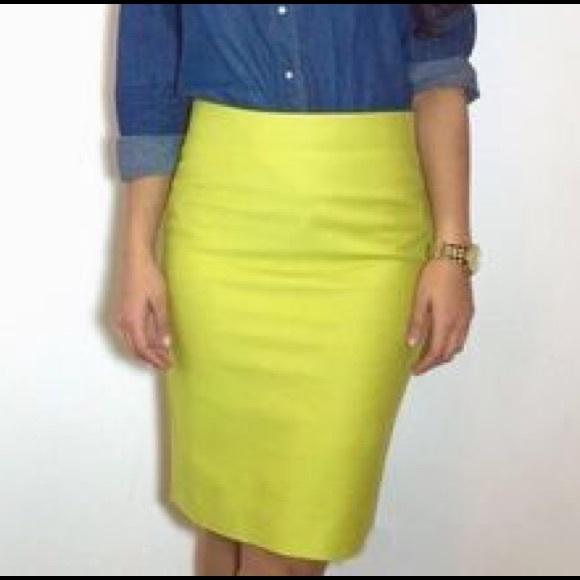 lime green pencil skirt fashion skirts